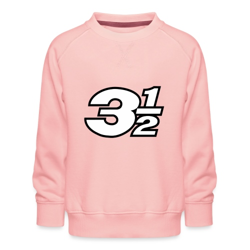 Three and a Half Logo - Kids' Premium Sweatshirt