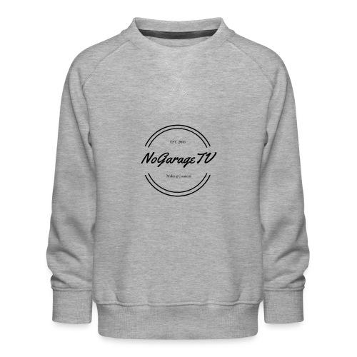 NoGarageTV (3) - Børne premium sweatshirt