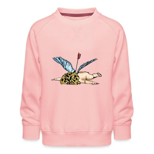 Did Cupid shoot himself, or did some other god of - Kids' Premium Sweatshirt