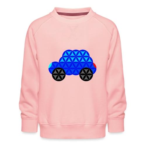The Car Of Life - M01, Sacred Shapes, Blue/R01. - Kids' Premium Sweatshirt