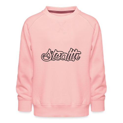 Stealth White Merch - Kids' Premium Sweatshirt