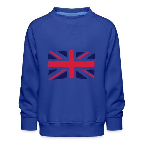 vlag engeland - Kinderen premium sweater