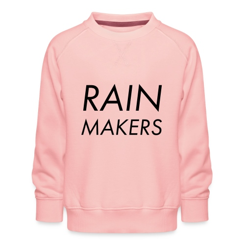 rainmakertext - Lasten premium-collegepaita