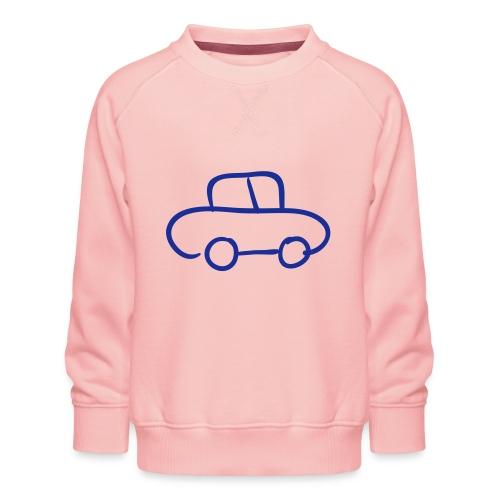 Van Line Drawing Pixellamb - Kinder Premium Pullover