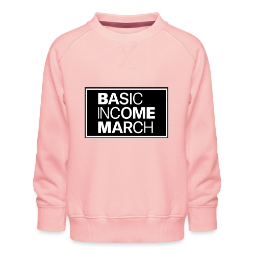 basic income march - Kinderen premium sweater