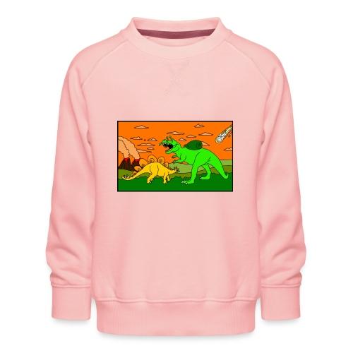 Schneckosaurier von dodocomics - Kinder Premium Pullover