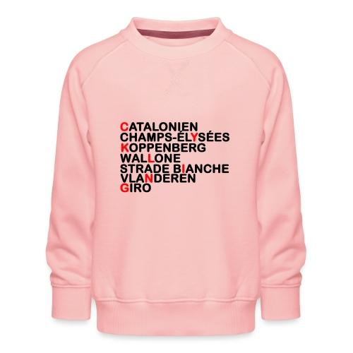 CYKLING - Børne premium sweatshirt