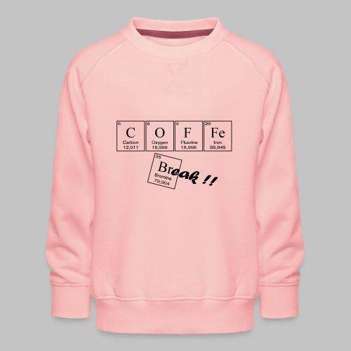 Coffee Break - Kids' Premium Sweatshirt