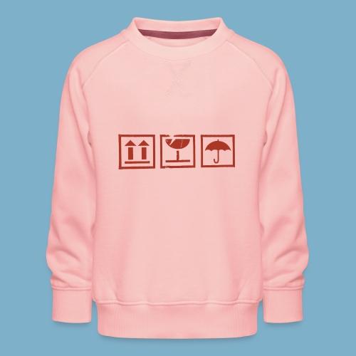 Zerbrechlich - Kinder Premium Pullover