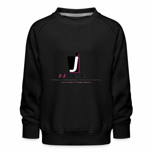 LOGO_J-J_DESIGN_FULL_for_ - Børne premium sweatshirt