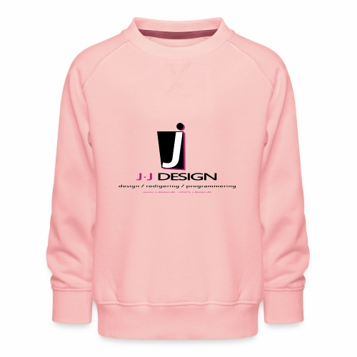 LOGO_J-J_DESIGN_FULL_for_ - Børne premium sweatshirt