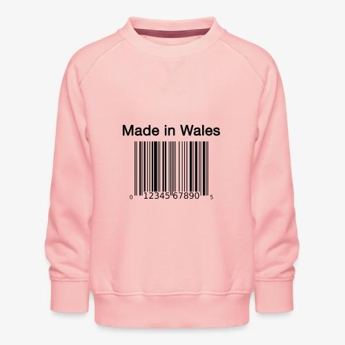 Made in Wales - Kids' Premium Sweatshirt