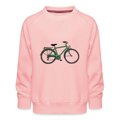 Grünes Fahrrad Bike - Kinder Premium Pullover