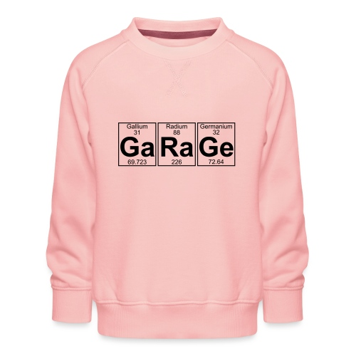Ga-Ra-Ge (garage) - Full - Kids' Premium Sweatshirt