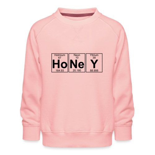 Ho-Ne-Y (honey) - Full - Kids' Premium Sweatshirt