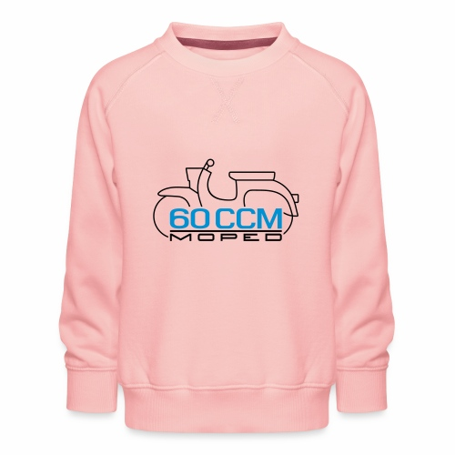 Moped Schwalbe 60 ccm Emblem - Kids' Premium Sweatshirt