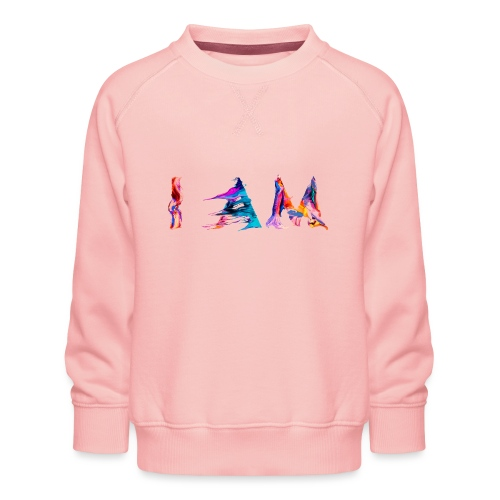 I AM - Sweat ras-du-cou Premium Enfant