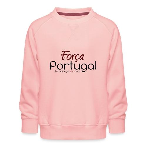 Força Portugal - Sweat ras-du-cou Premium Enfant