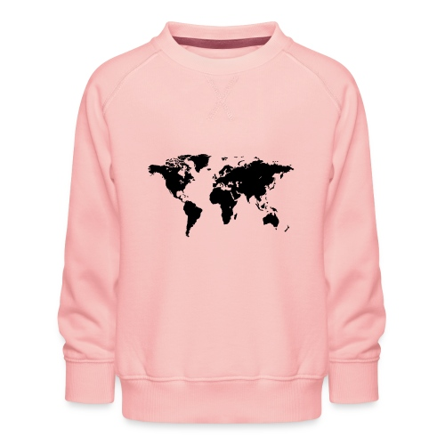 World Map - Kinder Premium Pullover
