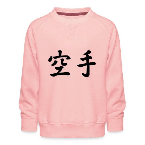 karate - Kinderen premium sweater