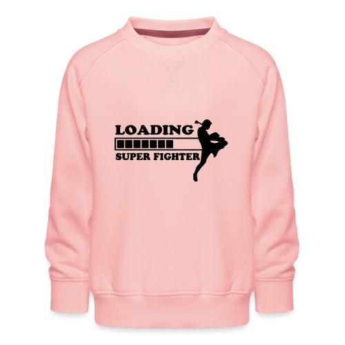 fighter loading - Kinderen premium sweater