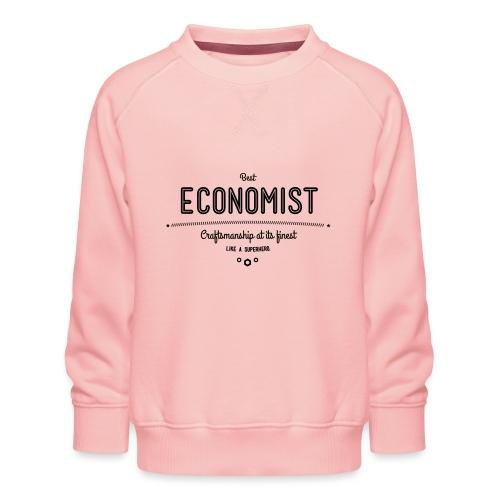 Bester Ökonom - wie ein Superheld - Kinder Premium Pullover