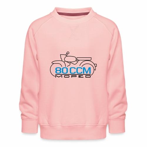 Moped Sperber Habicht 80 ccm Emblem - Kids' Premium Sweatshirt