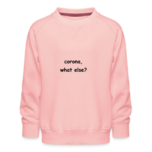 corona t-shirt - Kinder Premium Pullover