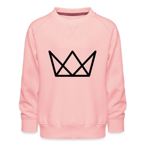 TKG Krone schwarz CMYK - Kinder Premium Pullover