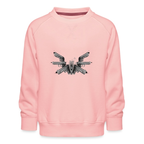 guns wings.png - Sweat ras-du-cou Premium Enfant