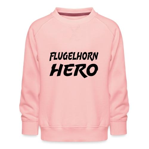 Flugelhorn Hero - Premium-genser for barn