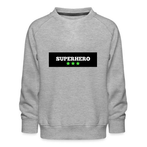 Lätzchen Superhero - Kinder Premium Pullover