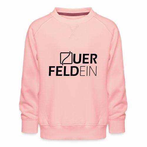 Querfeldein Logo - Kinder Premium Pullover