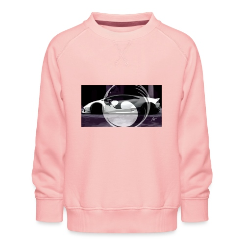 lion black lyon design - Kids' Premium Sweatshirt