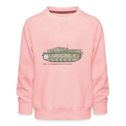 Stug III Ausf D. - Kinder Premium Pullover