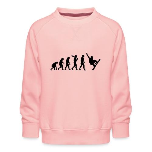 Evolution Snowboard - Kinder Premium Pullover