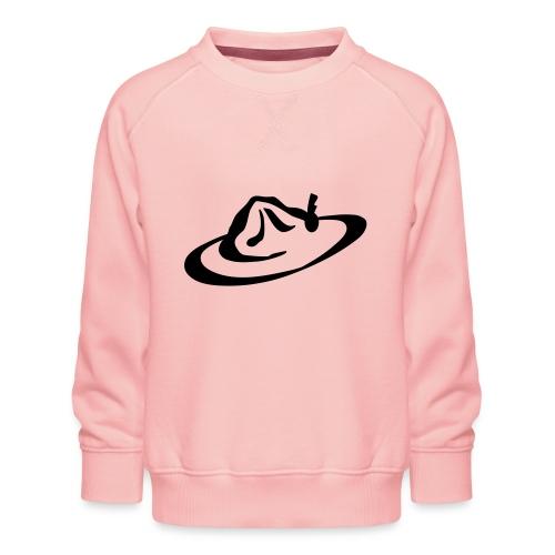 logo hoed - Kinderen premium sweater