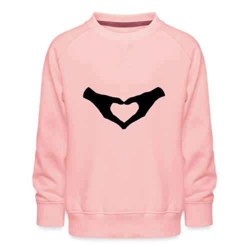 Herz Hände / Hand Heart 2 - Kinder Premium Pullover