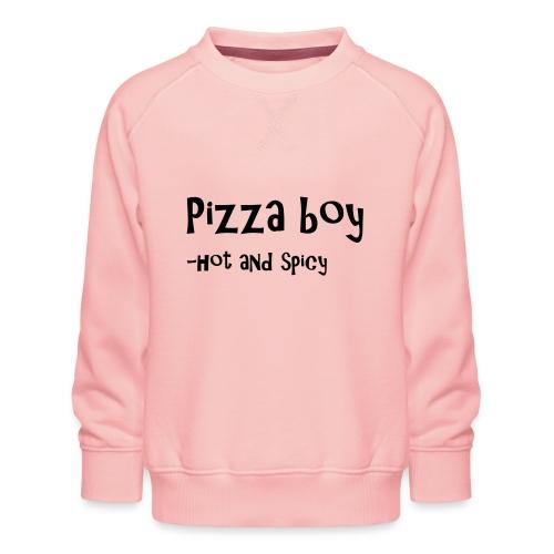 Pizza boy - Premium-genser for barn