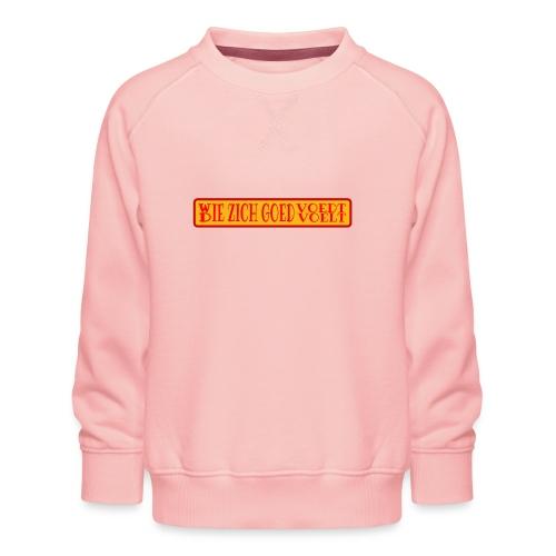 wie en die png - Kids' Premium Sweatshirt