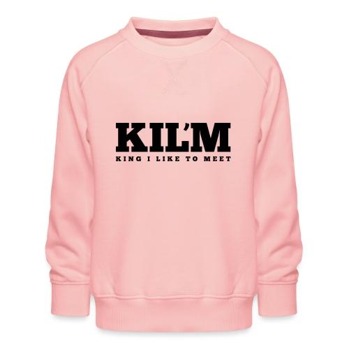 King I Like to Meet - Kinderen premium sweater