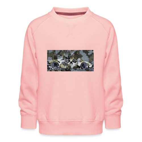 calavera style - Kids' Premium Sweatshirt