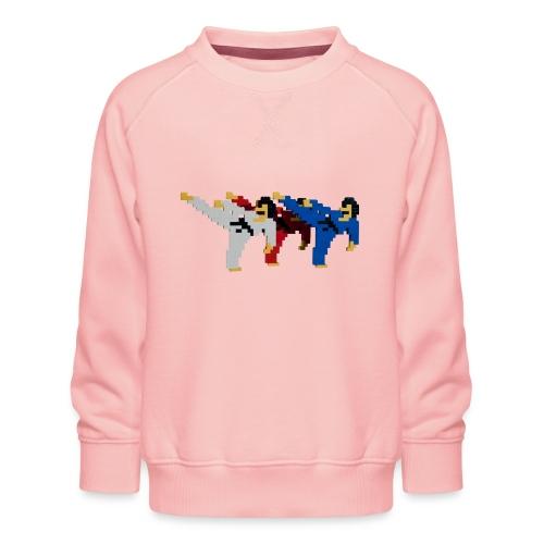 8 bit trip ninjas 2 - Kids' Premium Sweatshirt