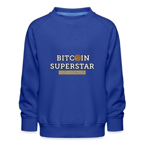 bitcoin superstar - Felpa premium da bambini