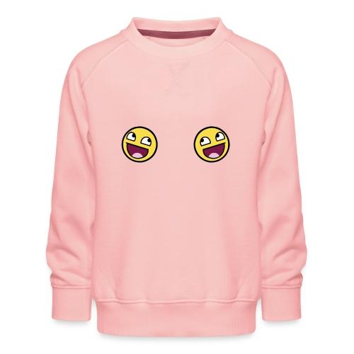 Design lolface knickers 300 fixed gif - Kids' Premium Sweatshirt