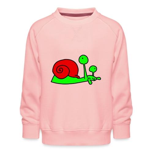 Schnecke Nr 207 von dodocomics - Kinder Premium Pullover