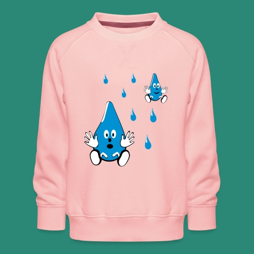 Tropfen - Kinder Premium Pullover