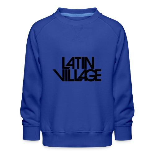 Logo Latin Village 30 - Kinderen premium sweater