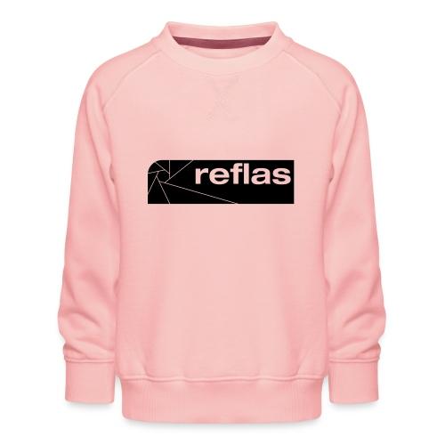 Reflas Clothing Black/Gray - Felpa premium da bambini