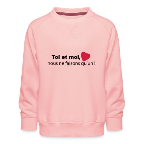 toi_et_moi - Sweat ras-du-cou Premium Enfant